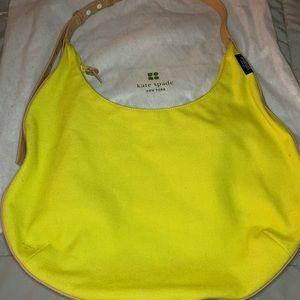 Yellow Kate Spade purse